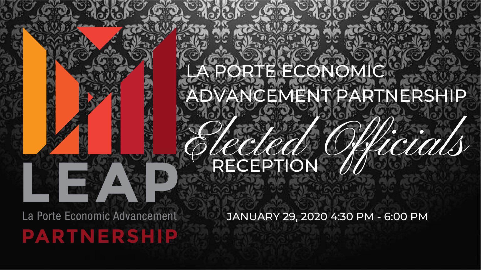 Elected Officials Reception La Porte Economic Advancement Partnership